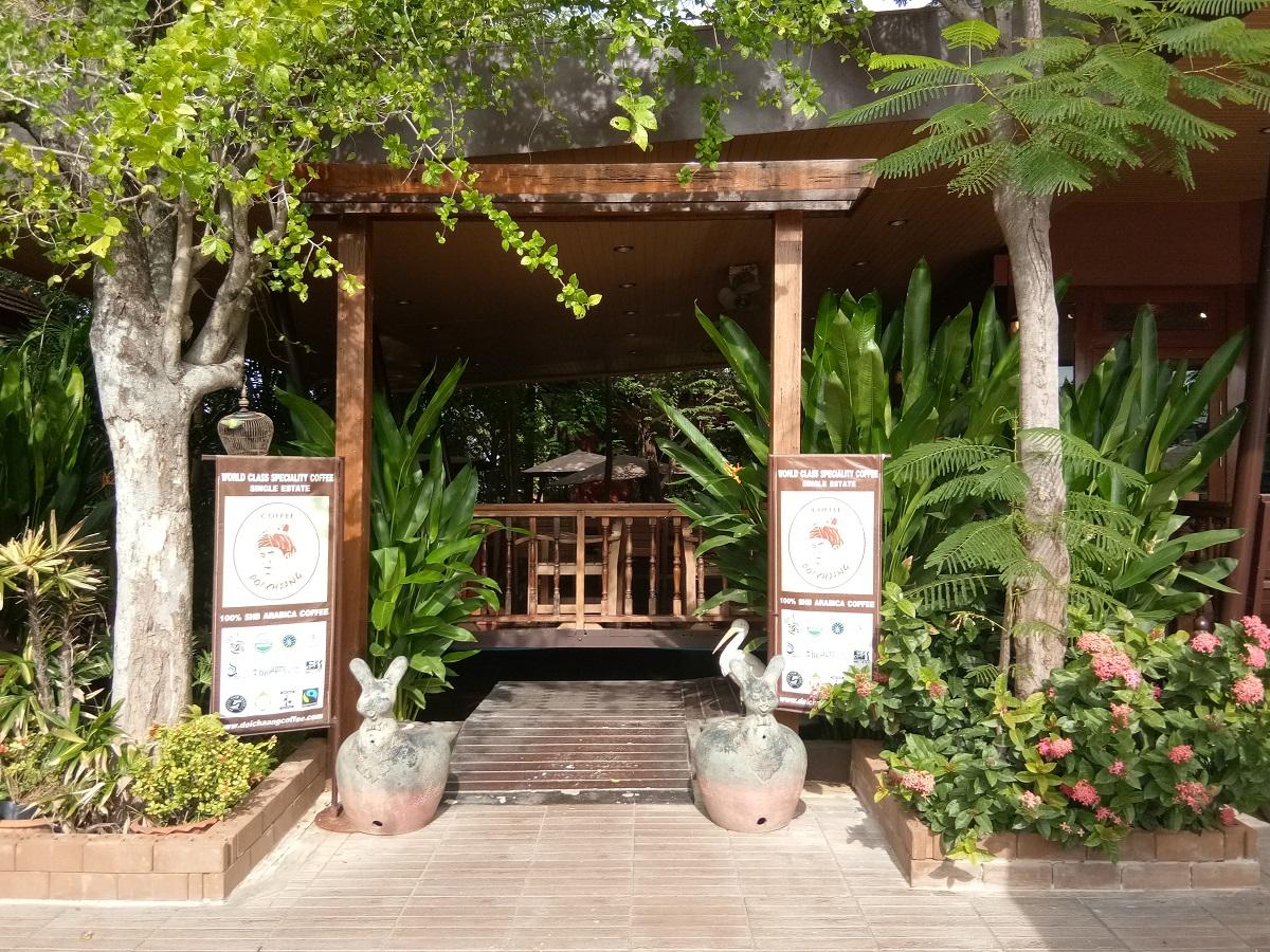 Doi Chaang coffee shops Thailand